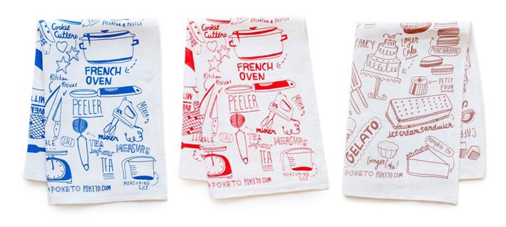 Cookingbaking Themed Kitchen Towels Fudgeyjoy