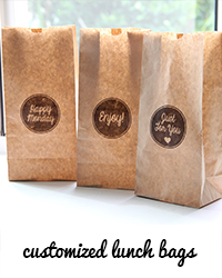 customized lunch bags