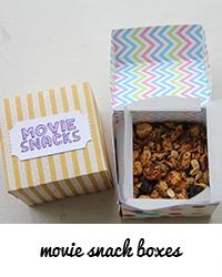movie snack boxes