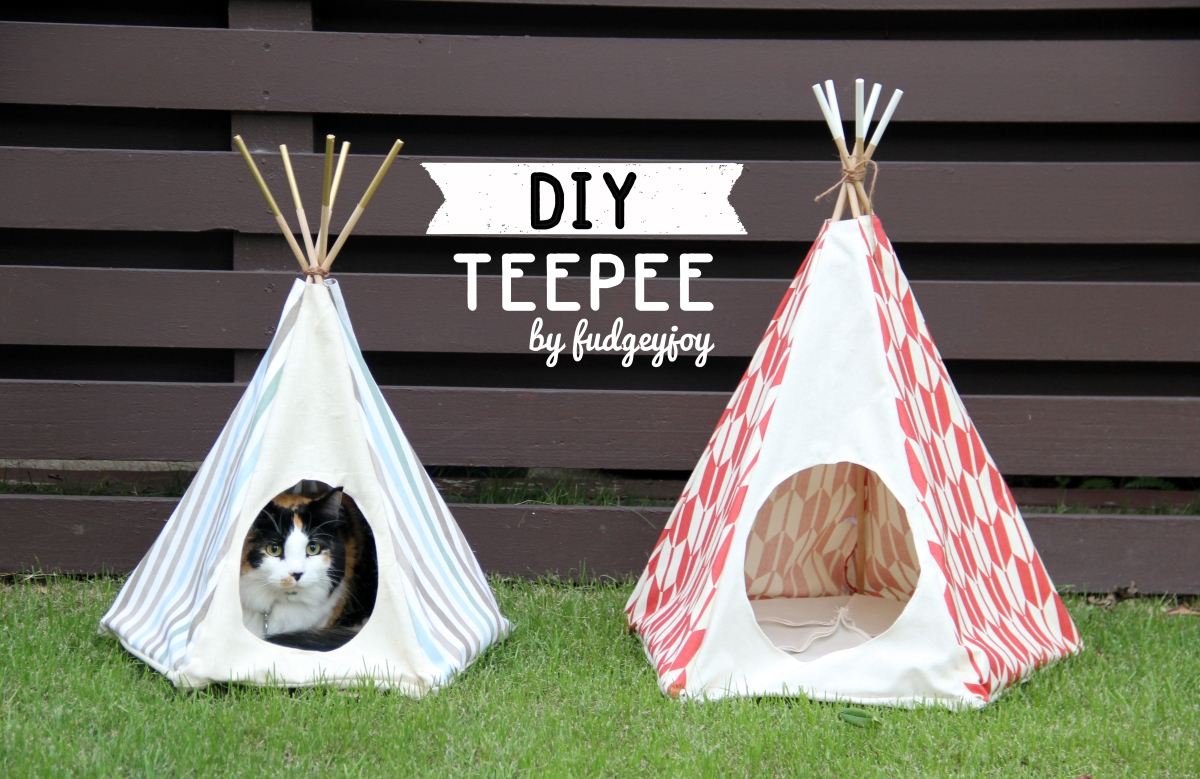 diy teepee - learn to create a teepee of any size